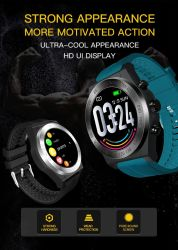 Ck25 Puls Sports intelligente Uhr-intelligentes Armband