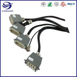Câble industriel Assembler le faisceau de fils avec connecteurs femelles à sertir