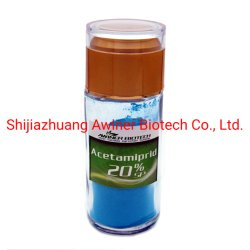 Agrochemisches in hohem Grade - wirkungsvolles Körperinsektenvertilgungsmittel Acetamiprid 20%Sp; 20%Wp; 40%Wdg