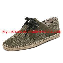 패션 주트 레이디 에스사드리유 플랫 핫 셀링 슬립 신발