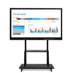 Bildschirm-Kiosk bewegliche interaktive Whiteboard intelligente Fernsehapparat-multi Infrarotnoten-einteiliger Computer-Media Player-LCD