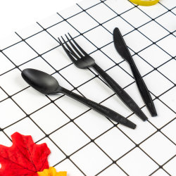 أدوات وأدوات مائدة وأدوات قابلة للتحلل الحيوي