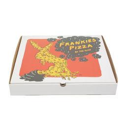 Heißer Verkauf aufbereitete Papiermaterialien innerhalb des braunen Packpapiers für Pizza-verpackenkasten