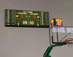شاشة LED رقمية بدقة HD كاملة الألوان طراز P2.5 داخلية ثابتة منشأة في مركز تسوق ملعب كرة السلة