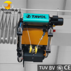 Corda de fio eléctrico de norma Euro Guindaste usado no guindaste de pórtico