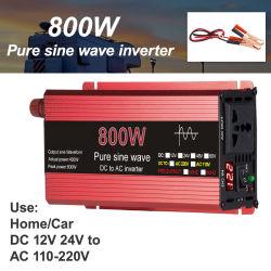 Sinewave puro 12V DC para 220V, 240V AC Bateria 800W 12VDC para 240VAC Inversor do Carregador