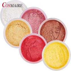 Cosmaireの真珠の顔料のプライベートラベルの化粧品の石鹸作成のための装飾的な雲母粉