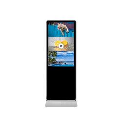 """32"""" 43"""" 50"""" 55"""" 65"""" 75"""" 86"""" 98""""-de-chaussée debout TFT LCD 1080p affichage publicitaire de joueur pour poster des messages publicitaires"""