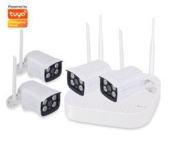 2 MP/1080P IP camera-surveillance camera 4 Tuya Kit CCTV camera WiFi/draadloos Camera 4CH NVR-beveiligingscamerasysteem