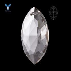 Alta Qualidade de vidro oval pingente de cristal Murano Acessórios