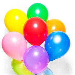 10 في شكل دائري Latex عيد ميلاد مخصص سحابة ملونة معدنية Latex بالون باستيلي سميك
