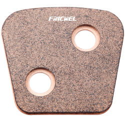 Fricwel 自動車部品黄銅高性能クラッチボタン ISO 9001