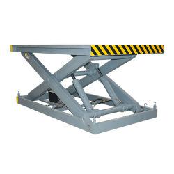 Qiyun Stationary Scissor Lift Disabled Car Electric Ladder Lift CE ISO 認定 500 kg 2000kg 油圧リフトシステム手動制御 青