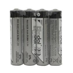 1,5 R03P/AAA baterías zinc-carbono