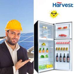 12V 24V DC Powered des réfrigérateurs solaires réfrigérateur-congélateur