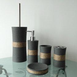 Accessoire de toilette de grès classique populaire fixée pour la maison (BP2610-GS)
