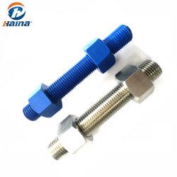 4.8 8.8 Xylan PTFE B8 B8m/des Grad-galvanisierte das StahlEdelstahl-SS304 SS316 ASTM A193 verzinkt B7/M3-M120 DIN975 DIN976 Stahlstift Schrauben verlegte Rod