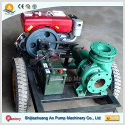 Дизельный двигатель насоса установите центробежный очистите ирригационных насосных машины