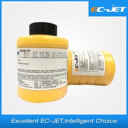 VideojetのドミノのLinx Markem Imaje Kgk Hitachitプリンター(EC1039)のインクジェット・プリンタの欧州共同体ジェット機の黄色カラーインクコンパティビリティのためのインク