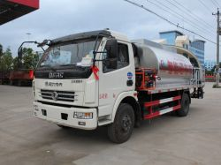 Dongfeng 1m3 aan 10m3 Vrachtwagen van de Distributie van het Asfalt van de Hitte de Vloeibare voor het Onderhoud van de Wegen