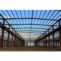 China-Baumaterial-vorfabrizierte Entwurfs-Stahlgebäude-Stahlkonstruktion für Lager/Werkstatt und den Export mit bestem Preis