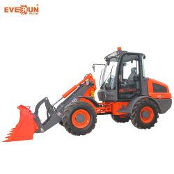 La marca CE aprobó Everun Er16 Mini cargadora de ruedas compactas
