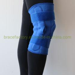 蝶番を付けられた膝の安定装置の波カッコ