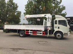 Sinotruk 4X2, смонтированные на грузовиках кран с грузоподъемностью 5 тонн