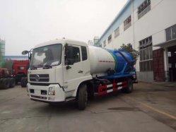 La Chine fabricant 4x2 5M3 8cbm fécale des eaux usées d'aspiration citerne du camion