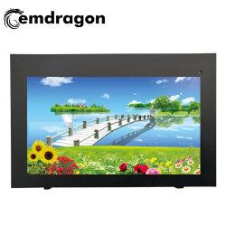 Publicité de plein air 32 pouces de la machine avec 32 pouces ultra mince Cross-Screen Air-Cooled Affichage LCD WiFi
