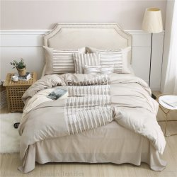 Insieme di seta dell'assestamento del cotone della maniglia del velluto molle decorativo domestico della tessile