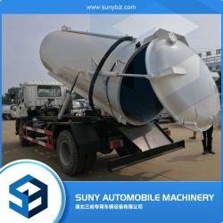 8000litros do tanque de sucção de esgoto de vácuo para venda na Tailândia