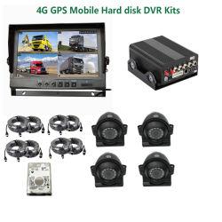 4CH voiture caméra mobile GPS Navigator Tracking Kit DVR Vidéo de sécurité