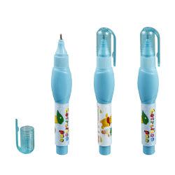 無毒で速い乾燥した金属先端の修正液、学生および事務用品の訂正のペン