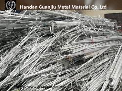 Desperdícios de fios de alumínio a partir de fios e cabos eléctricos