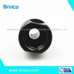 Oxyde noir personnalisé Aluminium 6061-T6 7075 CNC télescope optique usiné de pièces pour la lentille (F-071)