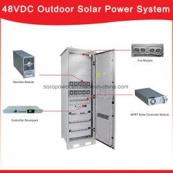 Telecom базы 48В постоянного тока солнечной системы питания блока питания