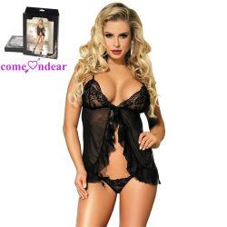 Les nouveaux arrivants noir Sexy femmes lingerie érotique de l'usure de soirée