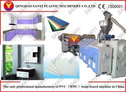 Placa de formação de espuma plástica que faz a maquinaria a linha plástica da extrusão da folha