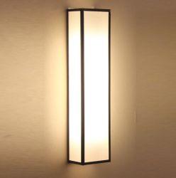Paroi métallique avec un verre de lampe de l'ombre (WHW-901)