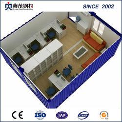 Container van het Bureau van het ISO- Certificaat de Prefab in Lage Kosten (het Huis van de Container)