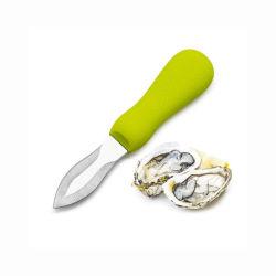 Faca de crustáceos e moluscos de ostras, o descasque de ostras Ferramenta abridor de faca, de ostras amêijoas e conquícolas abridor de marisco com punho Anti-Skid boas ferramentas de cozinha12278 ESG