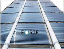 Projeto de aço inoxidável Piscina aquecedor solar de água com tubo de vácuo