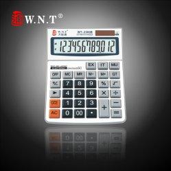BusinessまたはOfficeの12のディジットDual Solar Power Desktop Finance Calculator