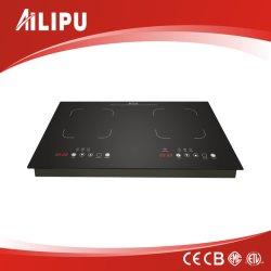 金属ボディ見開き図版の誘導の炊事道具か誘導Cooktopまたは電気ストーブ