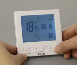 Termostato programable inalámbrico, el termostato electrónico de calefacción, suelo radiante el termostato