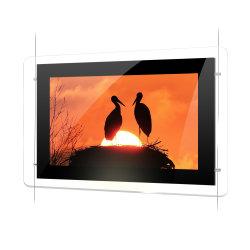Wall Hanging conduit à l'acrylique/Acrylique Crystal Boîte à lumière LED Carte de menu