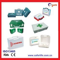 Caja de herramientas de plástico de médicos de hospital