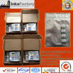 Tinten-Beutel der Sublimation-2L für Mimaki Ts34/Ts5