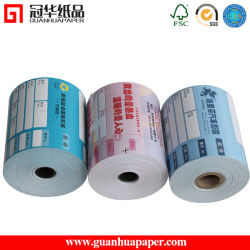 Certifiée ISO 76mm, 80 mm Rouleau de papier thermique pour POS